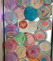KPS students made their own dots!