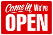 Our times we are open!!!!