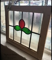Salvaged Stained Glass - $145