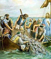 "Matthew 4:18-19 - And He said to them, ""Follow Me, and I will make you fishers of men."""