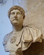 Hadrian was the Roman Emperor from 117 - 138 AD.