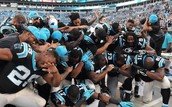 The Panthers doing the DAB!!!!!!!!!!!!!!!!!!!!!