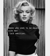 Marilyn Monroe quote!
