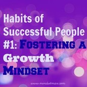 What habits do you have that make you successful?
