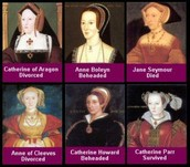 All of Henry the VIII's wives.