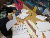 Differentiated independent practice: 1st grade word work