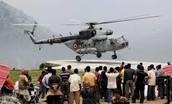 Air Force evacuating people