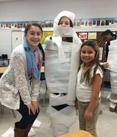 Mummifying our Mentor!