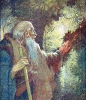 Odysseus as a beggar