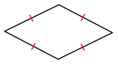 Drawing of a Rhombus