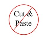 Cut and Paste