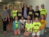The 5th Grade Chieftains also met  Mrs. Ritz