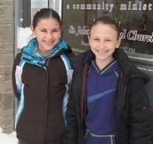 Bridget Flugel and Allie Cleveland