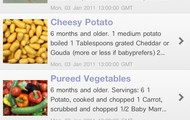 About Baby Meals - recipes for babies and toddlers