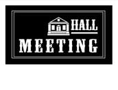 Hall Meeting Times