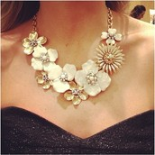the Dot Bloom necklace
