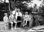 Niels, Margrethe, Aage, Erik, Hans, and Ernest