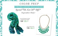 Trunk Show Exclusive Offers