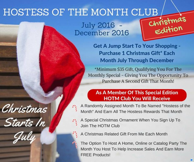 Hostess Of The Month Club! | Smore Newsletters for Business