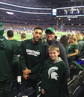 Denzel Valentine--MSU Senior and MSU's Best Player