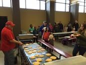 Chris Cakes Pancake Supper