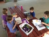 Reading at Gavin Park