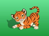 The small good tiger