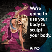 PiYo: Use your body to sculpt your body!