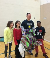 "Principal Removes his ""Poncho"" with Students"