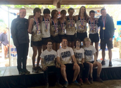 Cross Country Boys team takes 3rd at State!