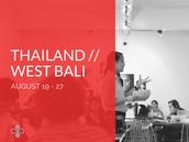 Thailand // Indonesia