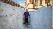 Snow taller than person