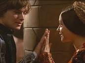 Romeo and Juliet first meet