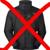 Nosotros no llevamos las chaquetas