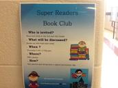 Book Club Underway