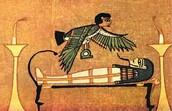 angel and mummy