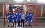 jugando un torneo en villeta con el equipo argentinos juniors