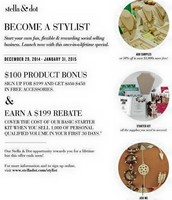 Best Sign-up Special in History of Stella & Dot!