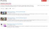 Reading Eggs training portal-->Video Webinars