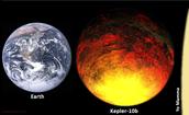 comparison to earth