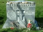 Billie Holiday's Gravesite