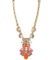 Pop geo pendant- original price $89, sale price $45