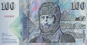 Douglas Mawson on the $100 note
