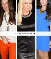 Celebrity Faves!