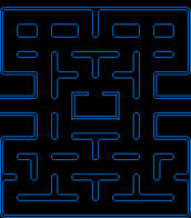 Life size and interactive Pac maze