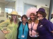 Thursday Crazy Hat Day!