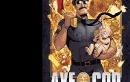 Axe Cop (volume 1) written by Malachai Nicolle ; drawn by Ethan Nicolle ; colored by Tom Rhodes