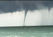 How is a Waterspout formed?