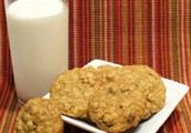 Chocolate Rasin Oatmeal Cookie
