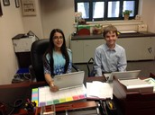 Future principals in their office